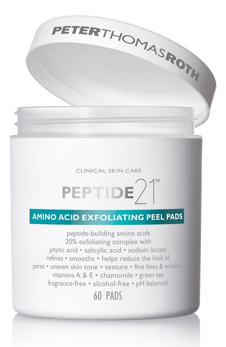 PETER THOMAS ROTH Peptide 21 Amino Acid Exfoliating Peel Pads, Main, color, NO COLOR