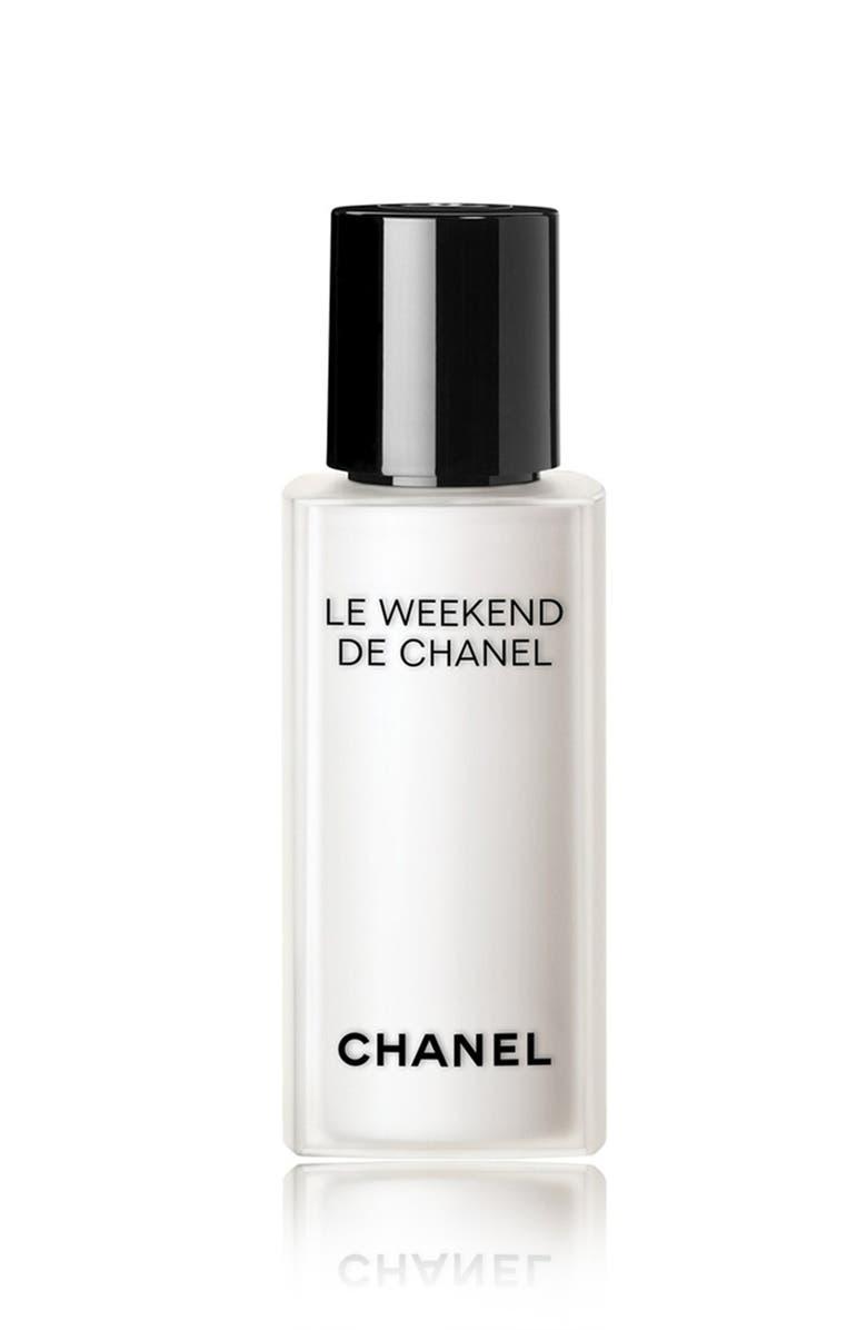 CHANEL LE WEEKEND DE CHANEL <br />Weekly Renewing Face Care, Main, color, 000