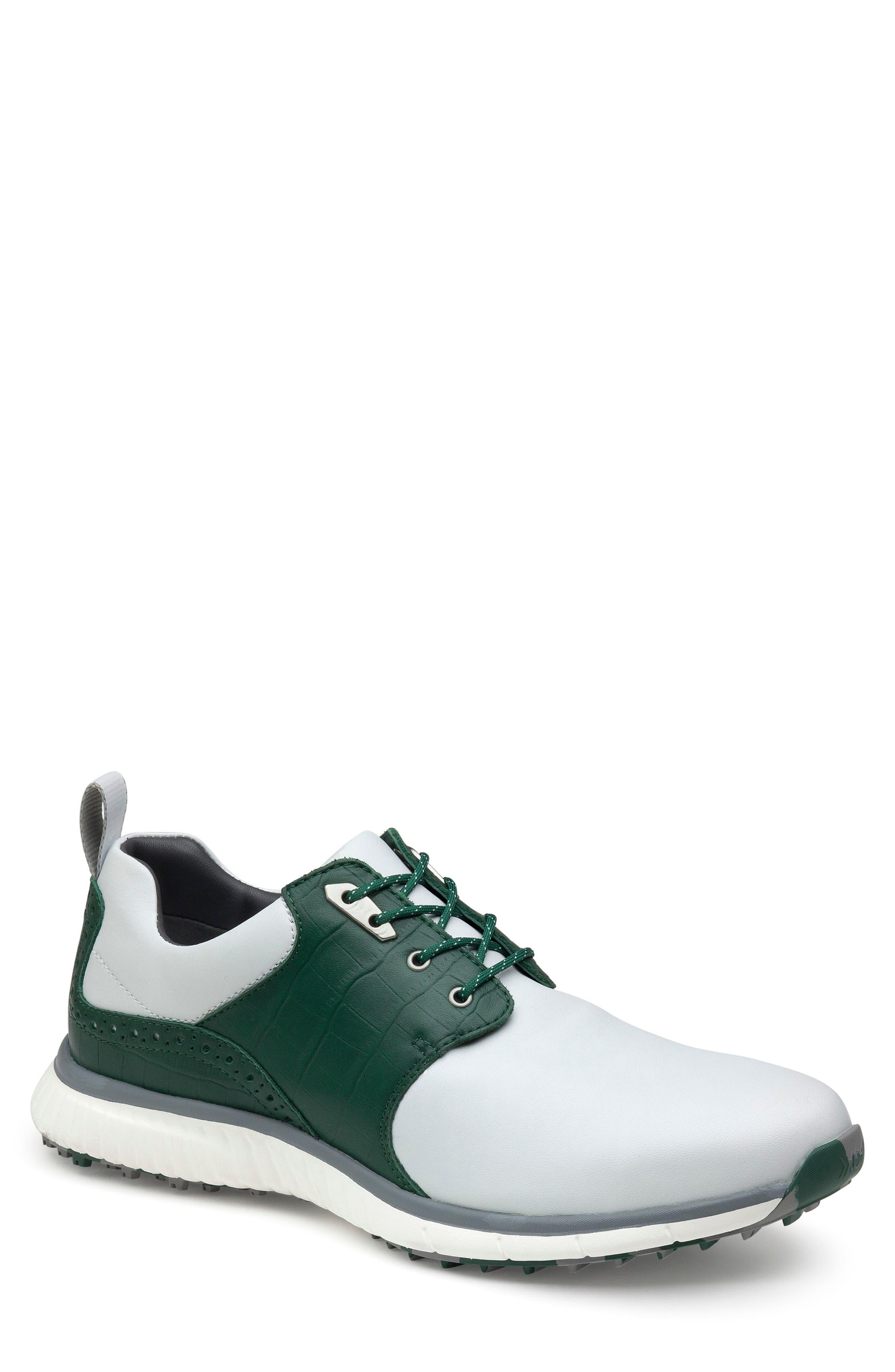 Xc4 H2 Luxe Hybrid Waterproof Golf Saddle Sneaker
