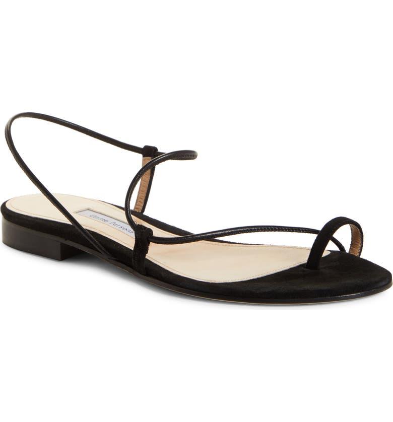 EMME PARSONS Susan Slingback Sandal, Main, color, BLACK