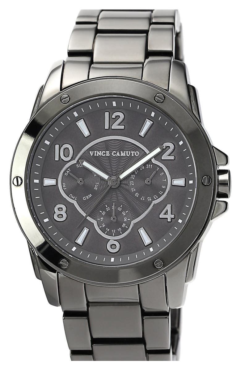 VINCE CAMUTO Round Bracelet Watch, 42mm, Main, color, 020