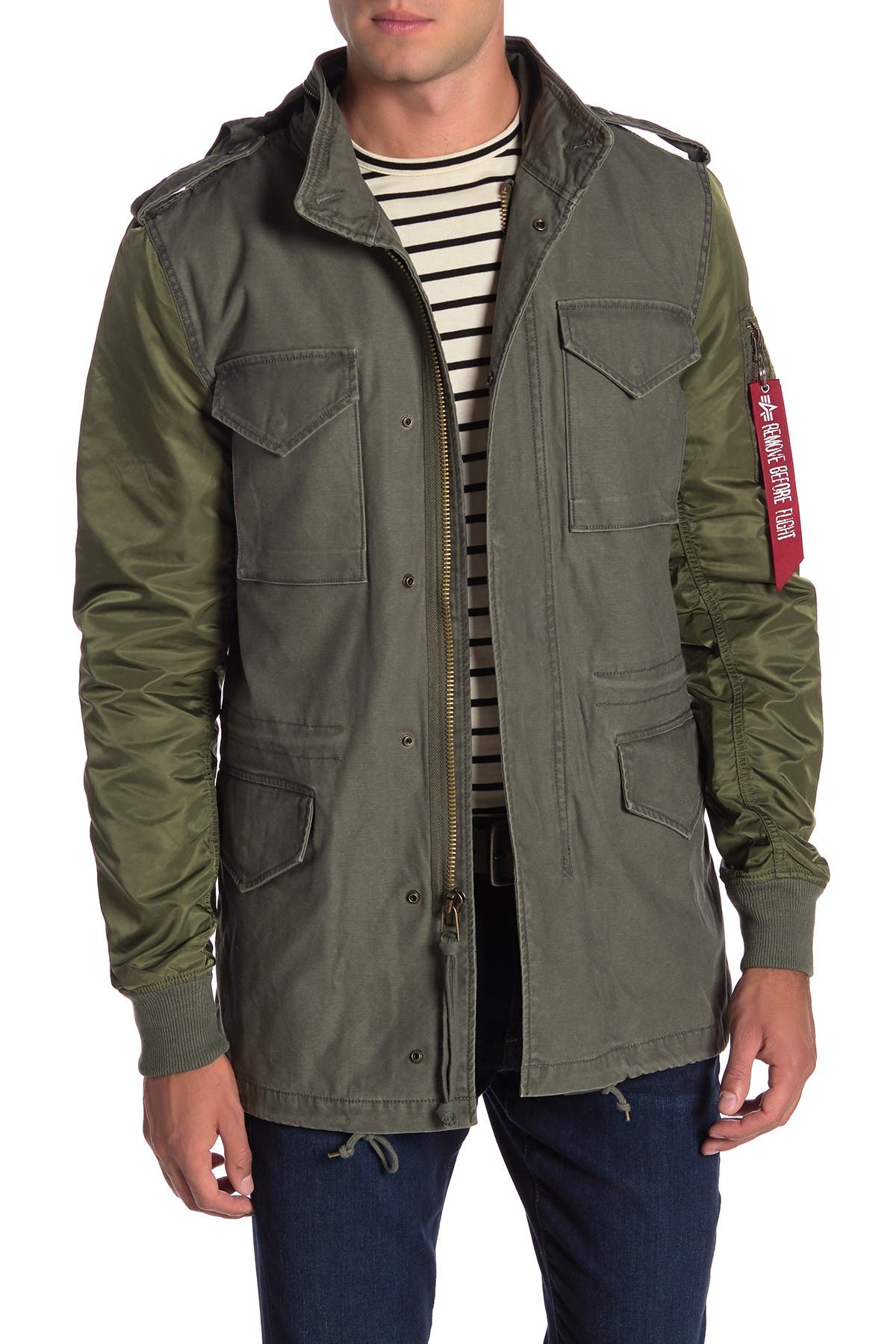 Image of Alpha Industries Fusion Field Coat