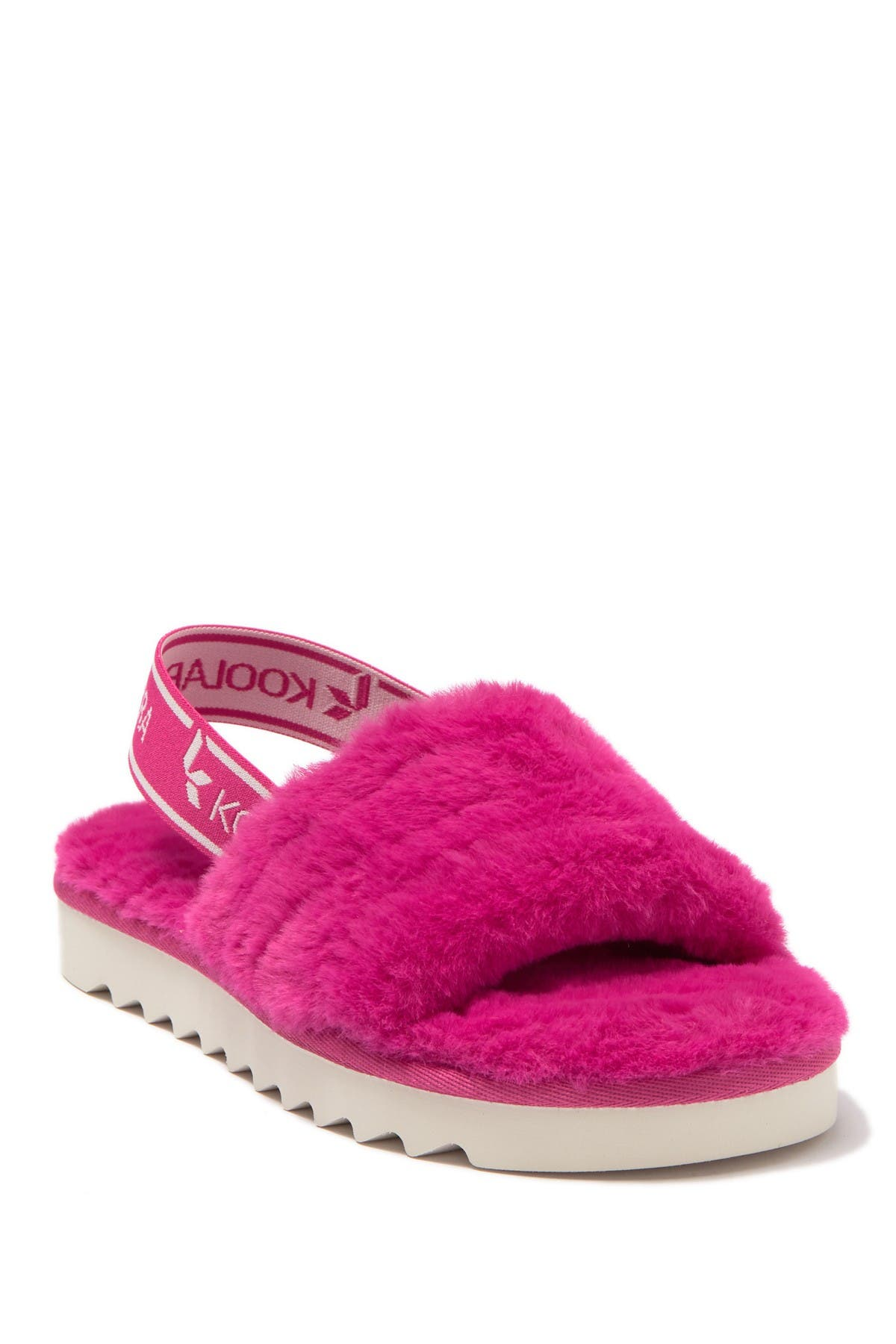 Image of KOOLABURRA BY UGG Fuzz'n Faux Fur Slipper Sandal