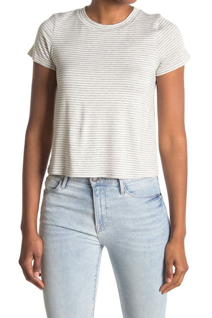 Image of Cotton Emporium Printed Short Sleeve Crew Neck T-Shirt
