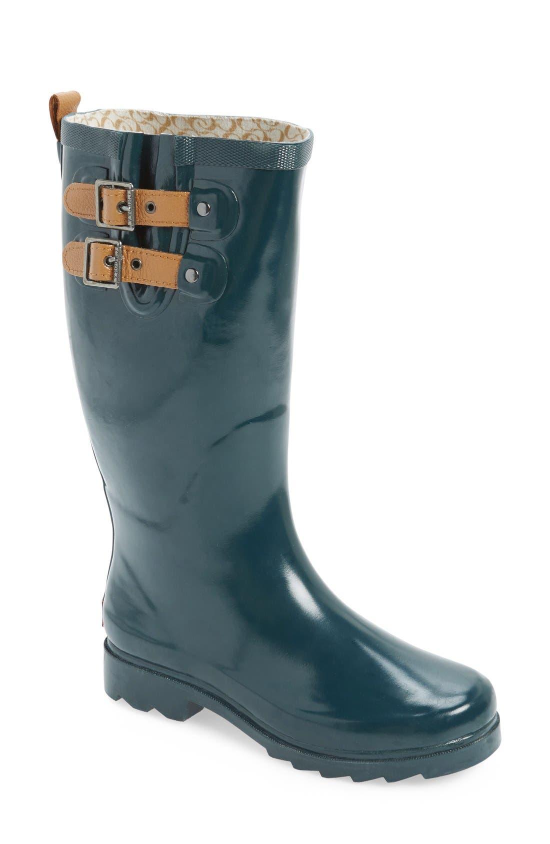 ,                             'Top Solid' Rain Boot,                             Main thumbnail 25, color,                             301
