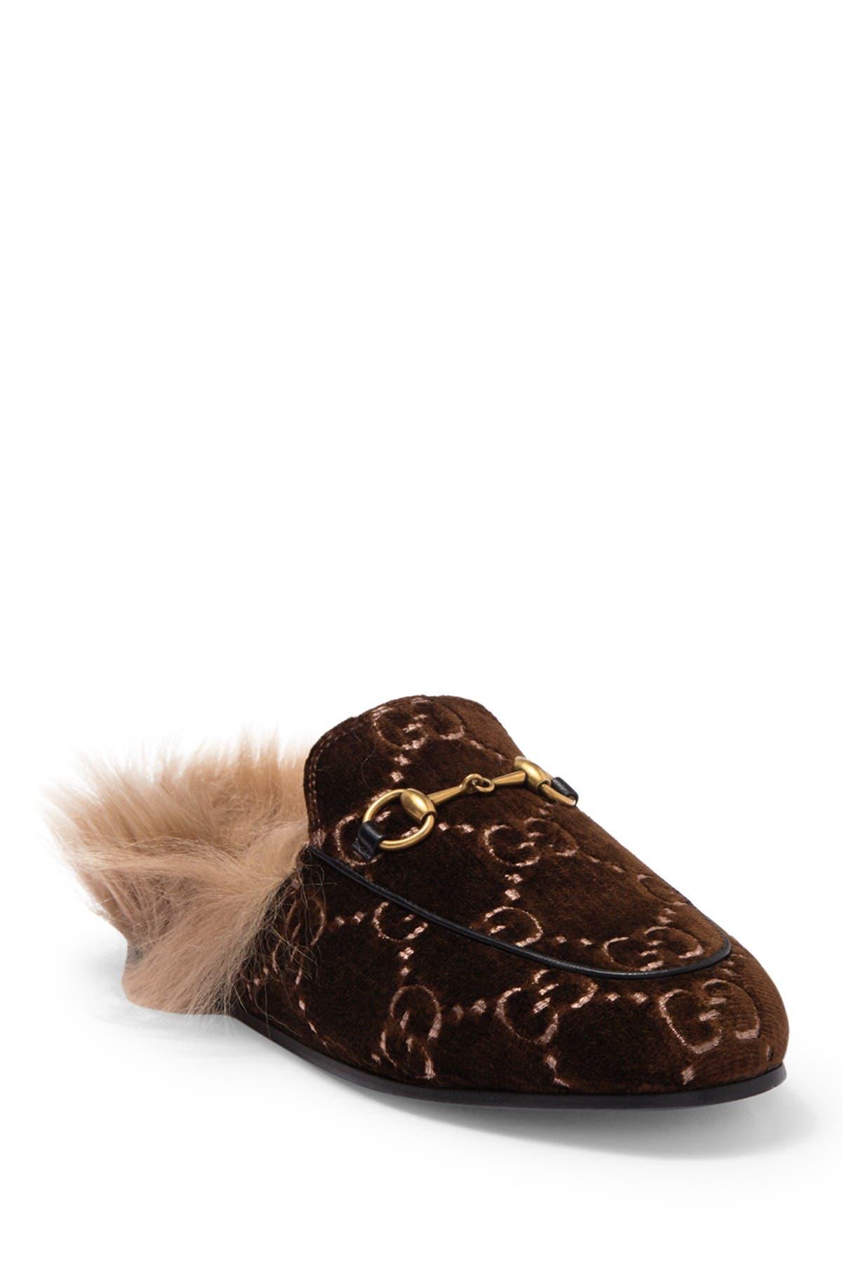 GUCCI | Princetown Genuine Lamb Fur
