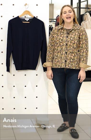 Wool & Silk V-Neck Sweater, sales video thumbnail