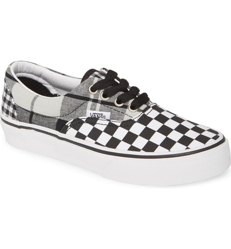 VANS UY Era Low Top Sneaker, Main, color, BLACK/ TRUE WHITE