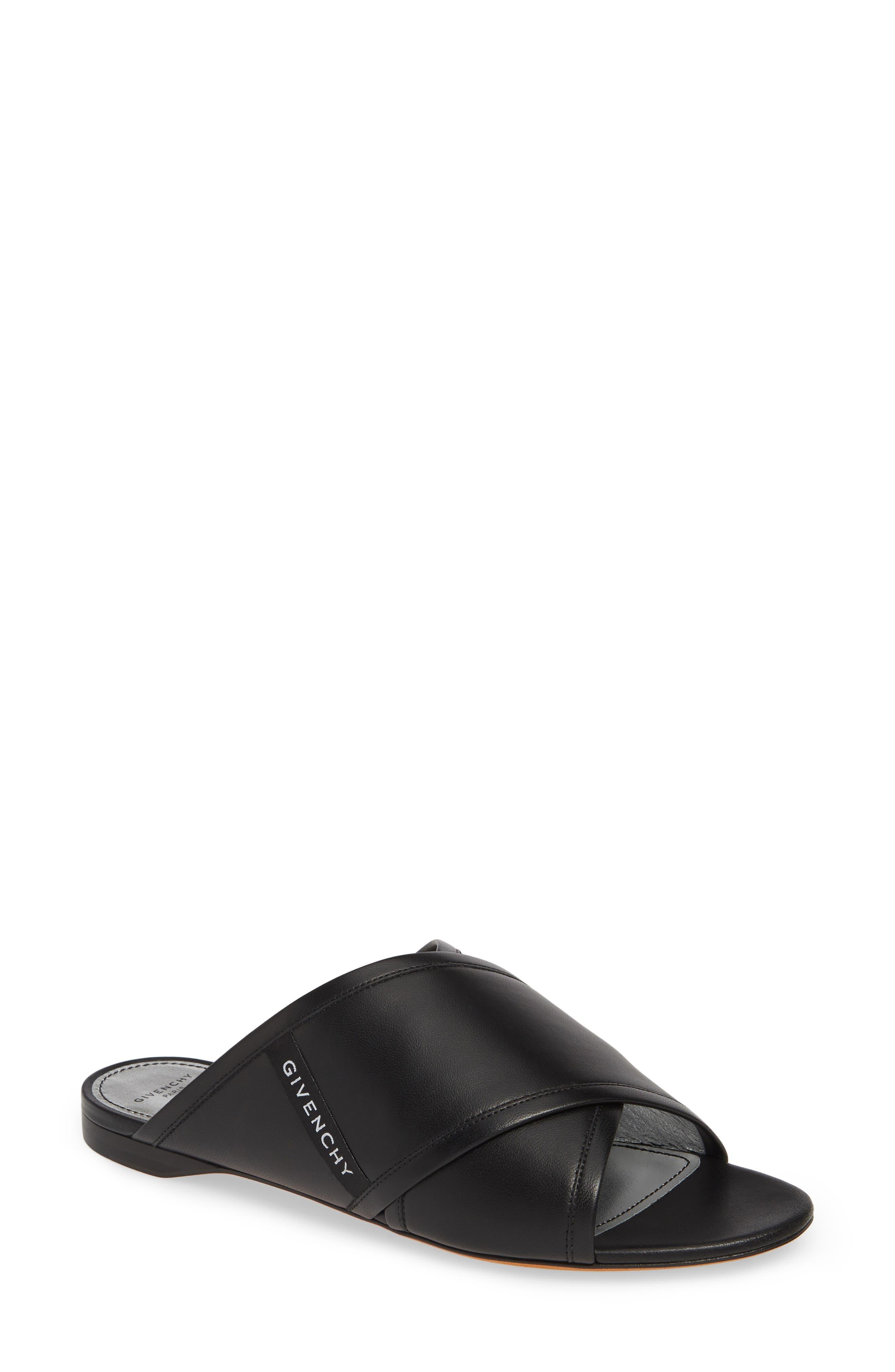 ,                             Rivington Crisscross Sandal,                             Main thumbnail 1, color,                             BLACK