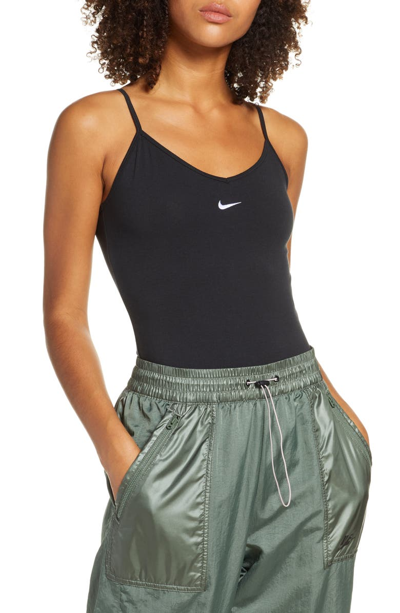 NIKE Sportswear Essential Women's Bodysuit, Main, color, 010