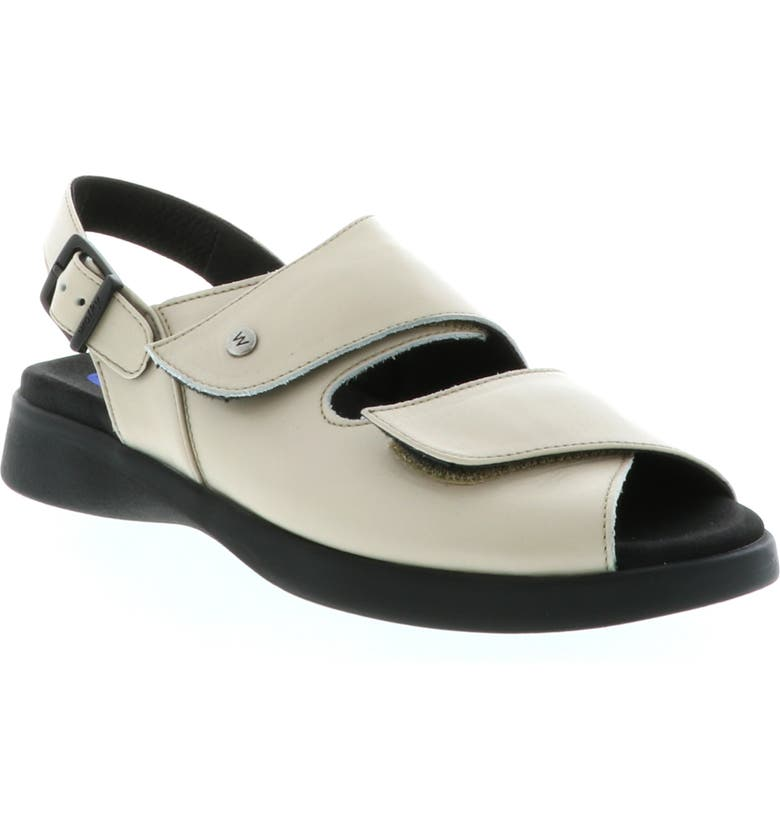 WOLKY Nimes Sandal, Main, color, LINEN SMOOTH LEATHER
