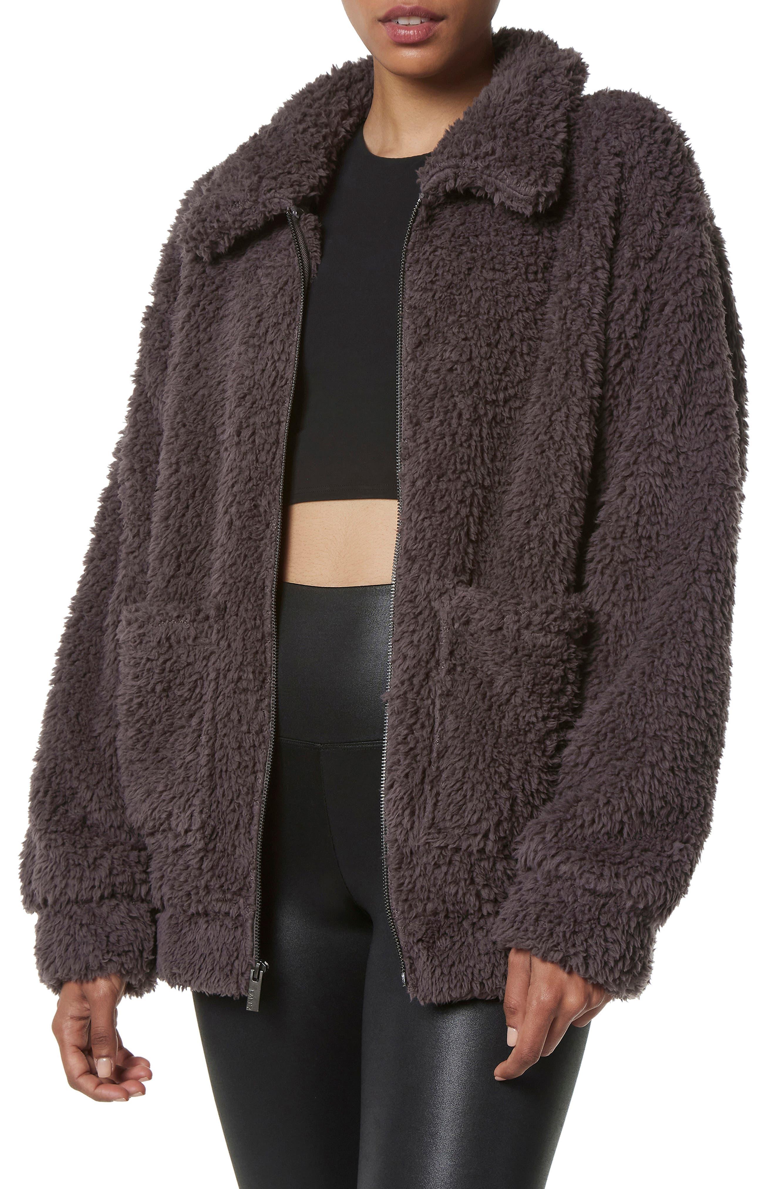Ultra Soft Faux Fur Jacket