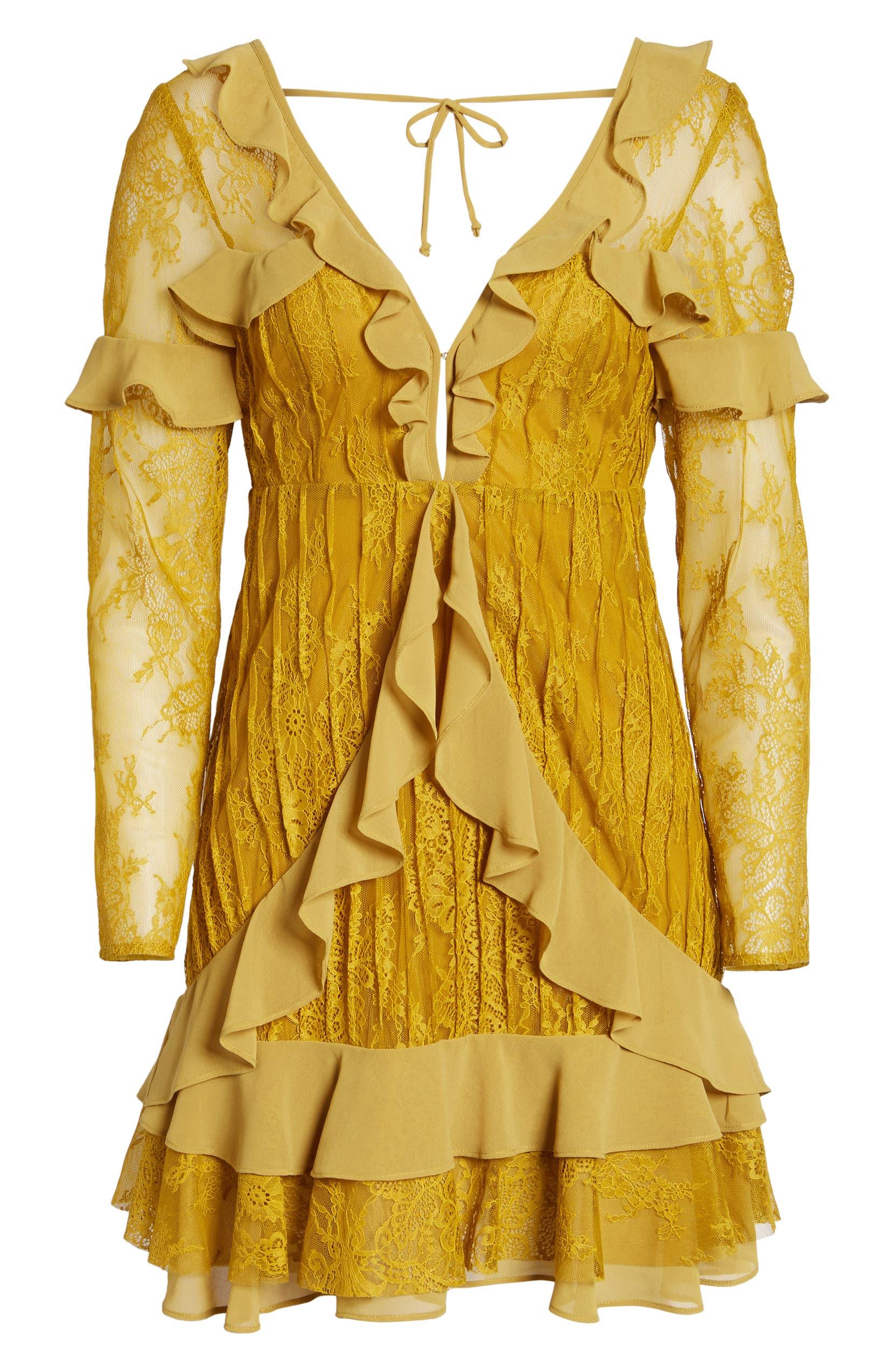 824db51352a2 For Love & Lemons Daphne Lace Minidress | Nordstrom