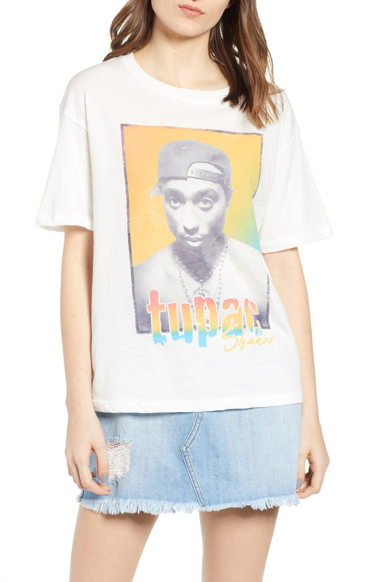 DAY by Daydreamer Tupac Graphic Tee, Main, color, 100