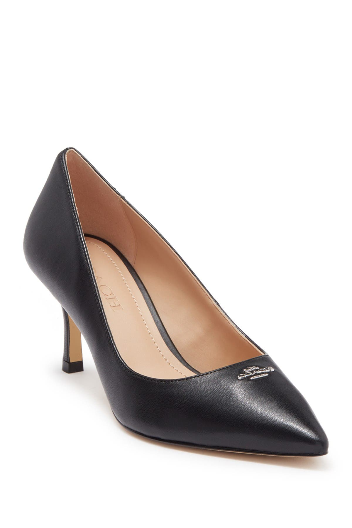 Image of Coach Orla Leather Pump