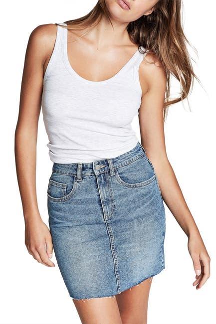 Image of Cotton On Classic Stretch Denim Mini Skirt