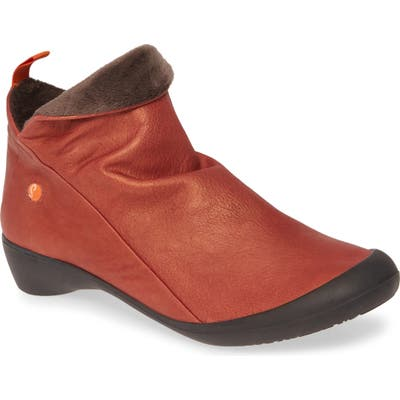 Softinos By Fly London Farah Bootie, Red