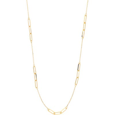 Bony Levy 14K Gold Station Necklace (Nordstrom Exclusive)