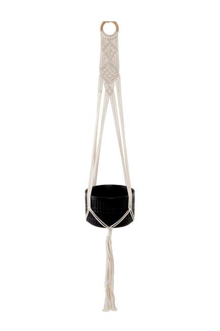 """Image of FLORA BUNDA 43"""" Hanging Macrame Planter Holder"""