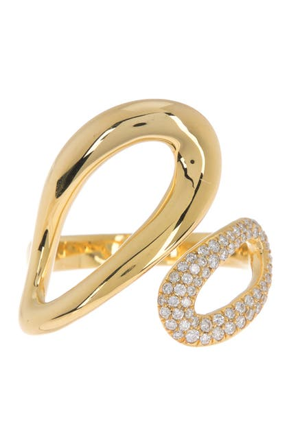 Image of Ippolita 18K Gold Small Cherish Bypass Ring