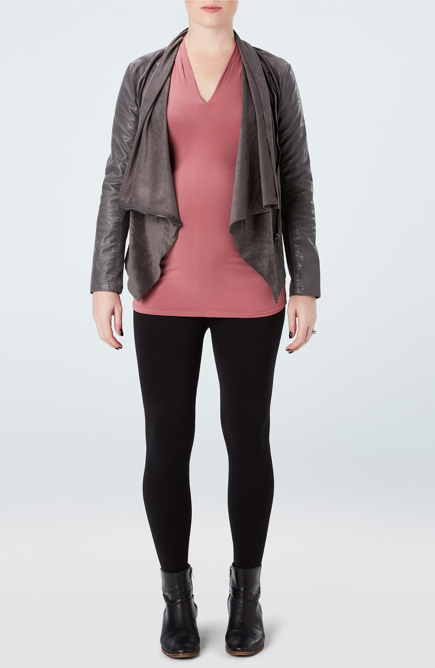 f843a7b27510 SPANX® Mama Look at Me Now Seamless Maternity Leggings | Nordstrom