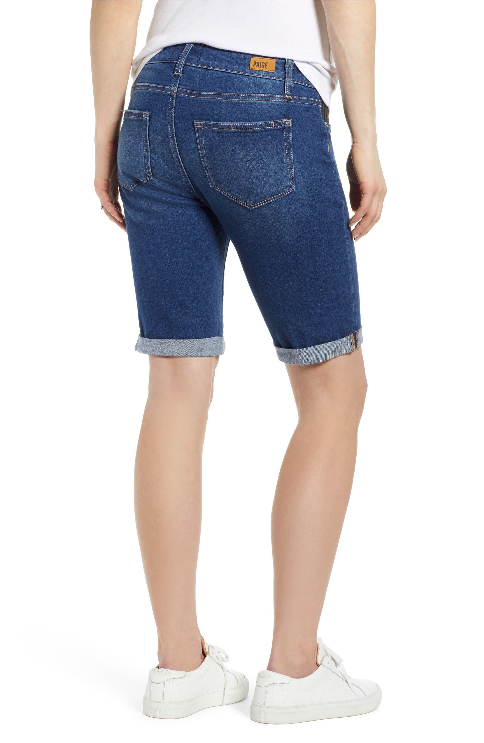 d2158d5d5b5f9 PAIGE Transcend Vintage - Jax Denim Maternity Shorts (Delmont) | Nordstrom