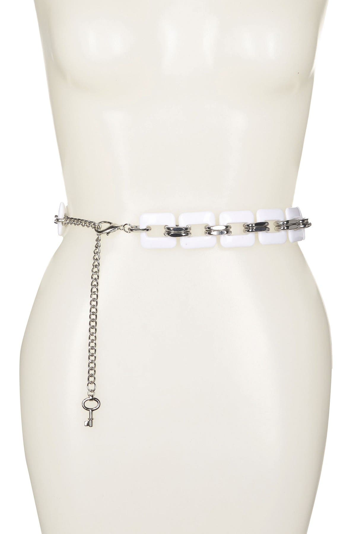 Image of Linea Pelle Resin Chain Belt