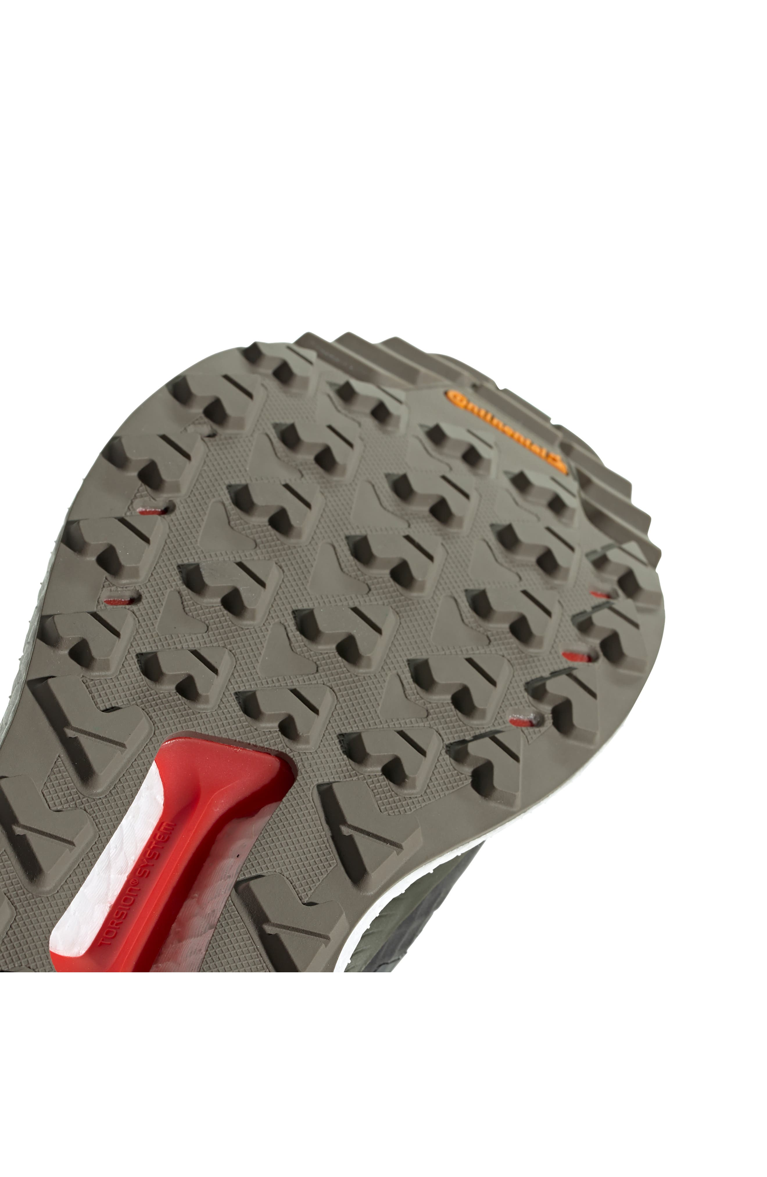 ,                             Outdoor Terrex Free Hiker CR Hiking Shoe,                             Alternate thumbnail 8, color,                             BLACK/ GREY SIX/ NIGHT CARGO