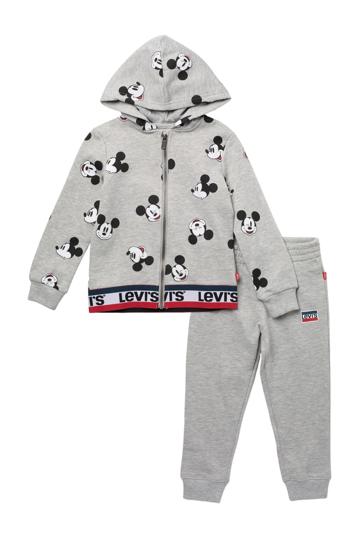 Image of Levi's Mickey Mouse Hoodie & Pants Set