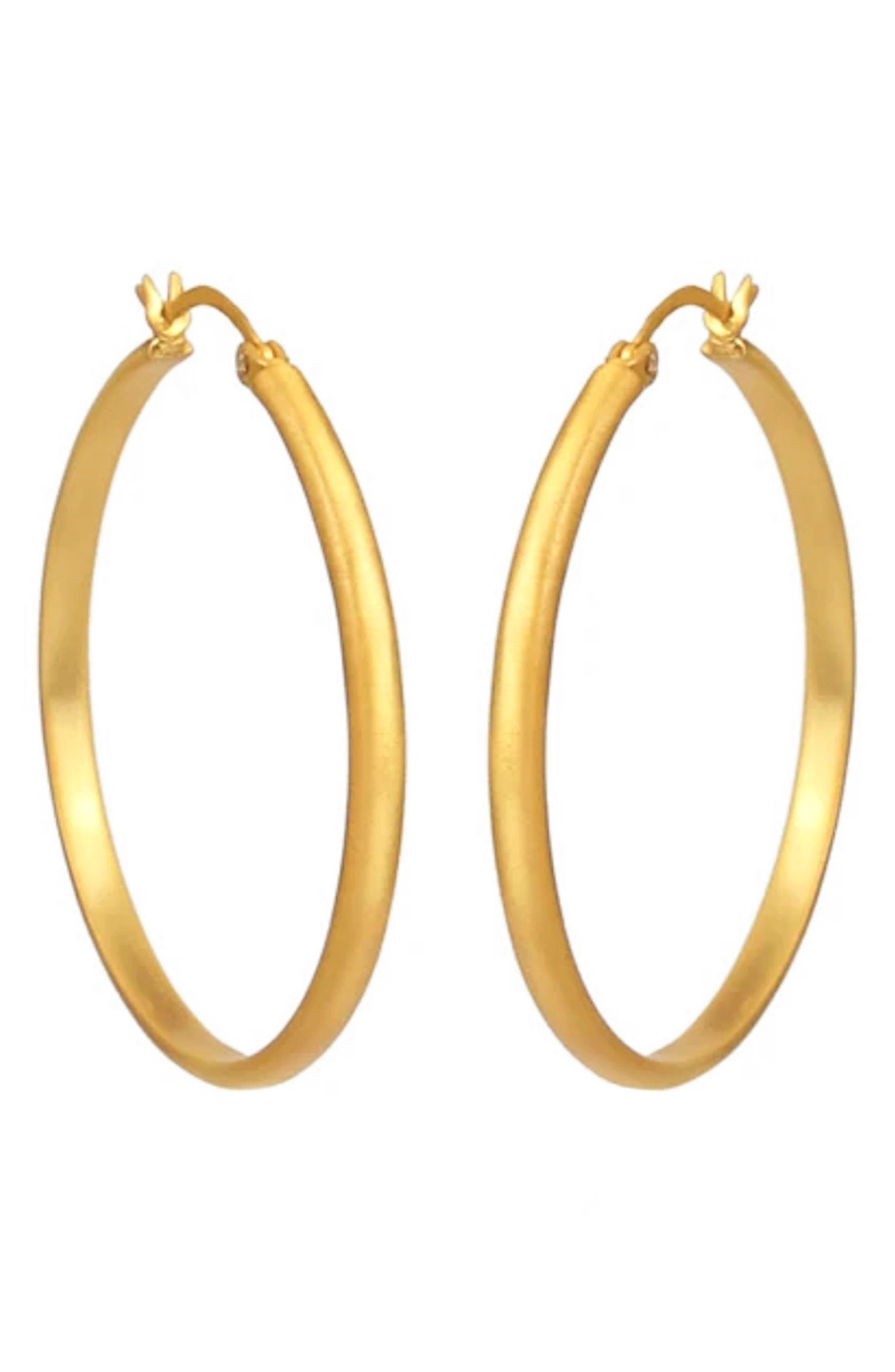 Simplicity Hoop Earrings