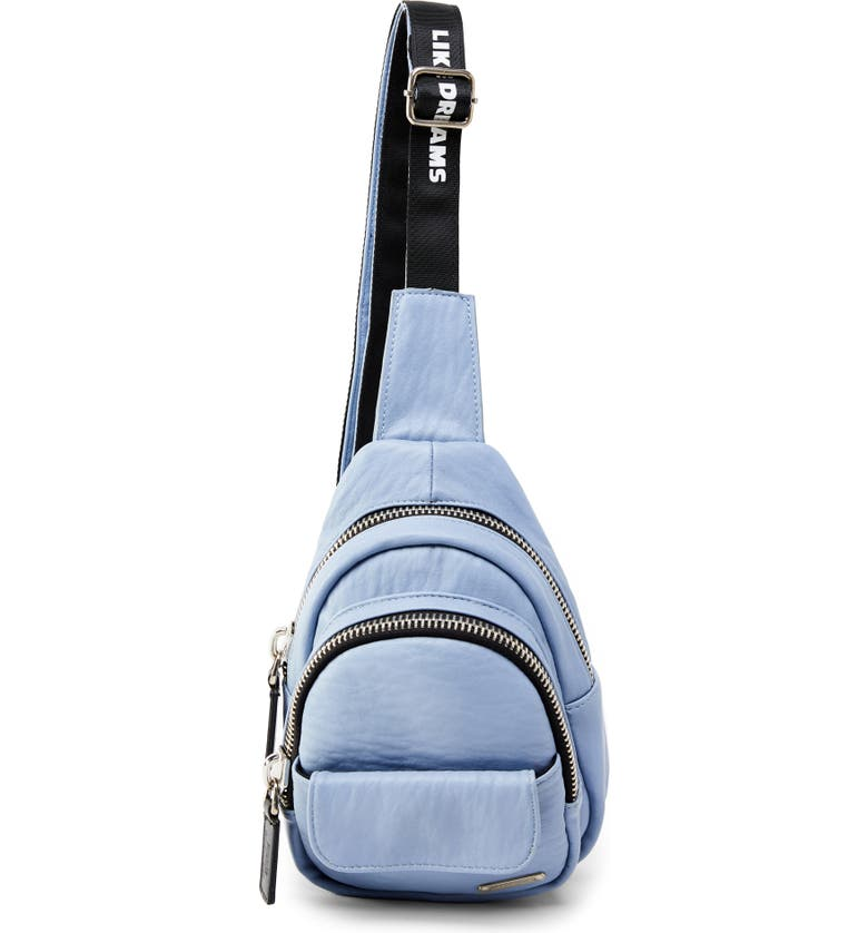 LIKE DREAMS Alex Faux Leather Crossbody Backpack, Main, color, 400