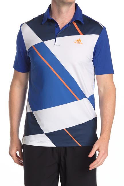 Image of Adidas Golf Ultimate365 Colorblock Polo Shirt