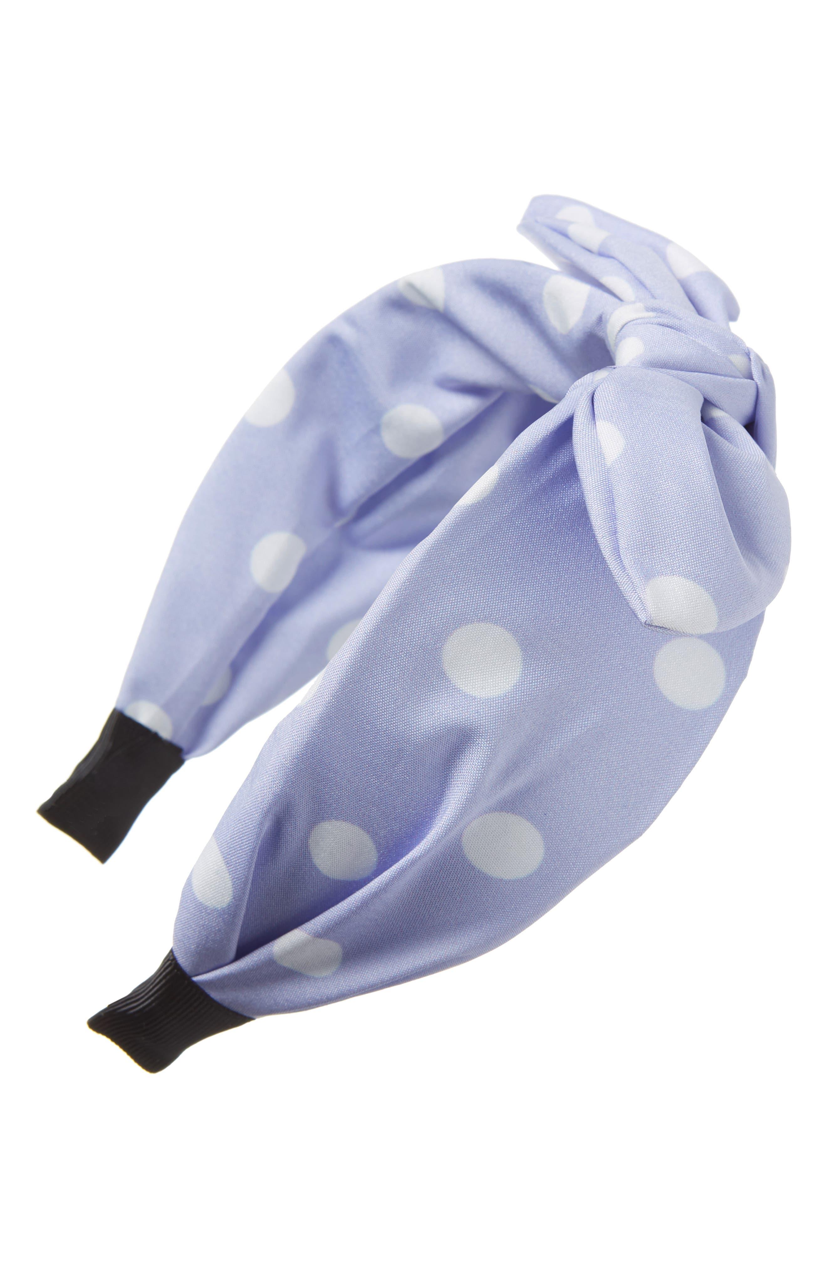 1950 Style Clothing- A Shopping Guide Tasha Polka Dot Bow Headband $24.00 AT vintagedancer.com