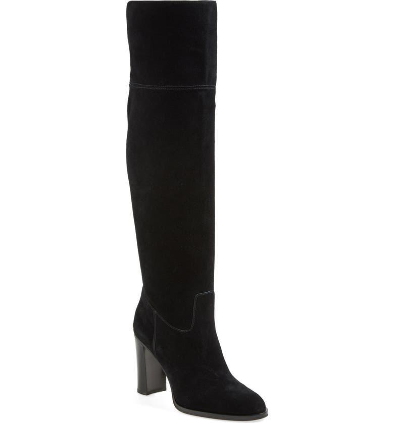 MICHAEL MICHAEL KORS 'Regina' Over the Knee Boot, Main, color, 001