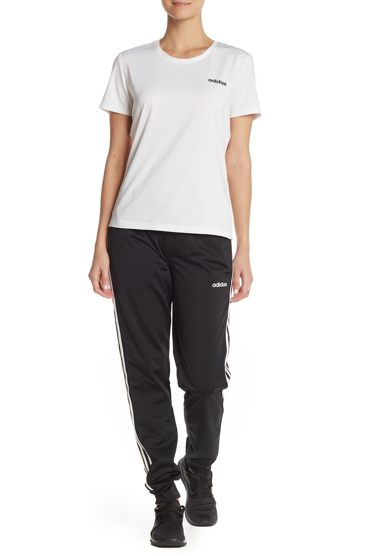 Image of adidas 3 Stripe Drawstring Pants
