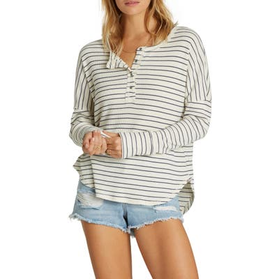 Billabong Any Day Henley, Ivory