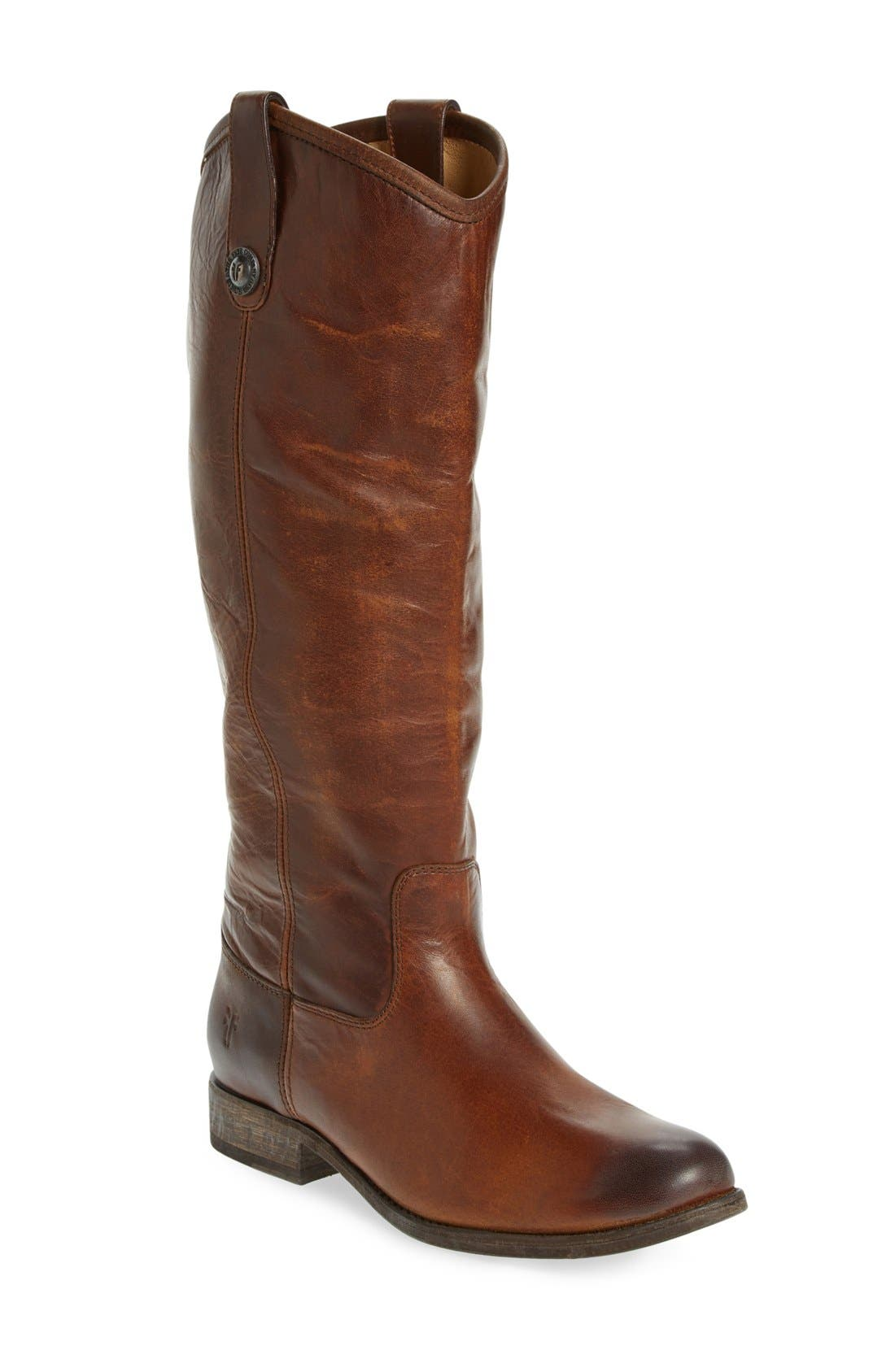 ,                             'Melissa Button' Leather Riding Boot,                             Main thumbnail 84, color,                             211