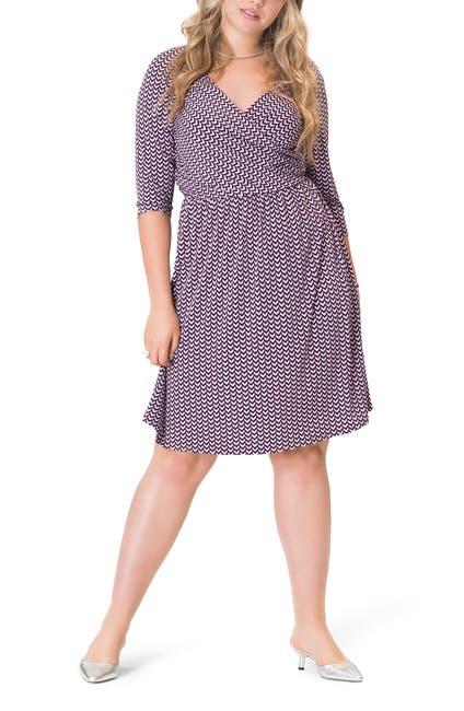 Image of Leota Sweetheart Faux Wrap Dress
