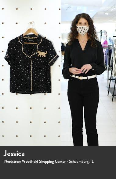 Notch Collar Top, sales video thumbnail