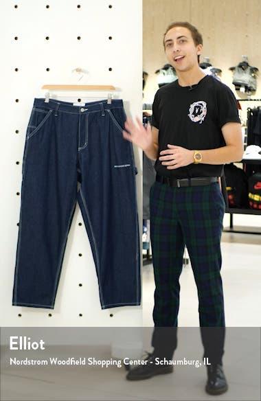 Raw Denim Carpenter Jeans, sales video thumbnail