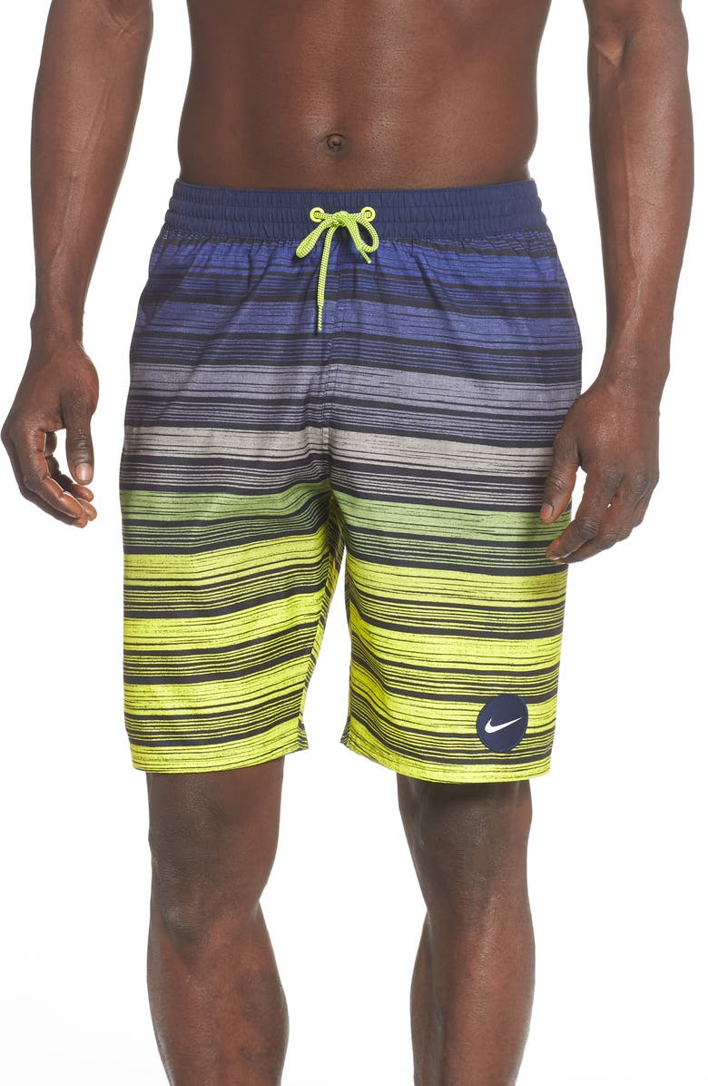 NIKE Stripe Volley Shorts, Main, color, 731