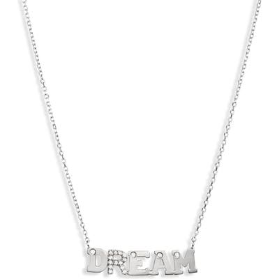 Anzie Typewriter Dream Sapphire Pendant Necklace