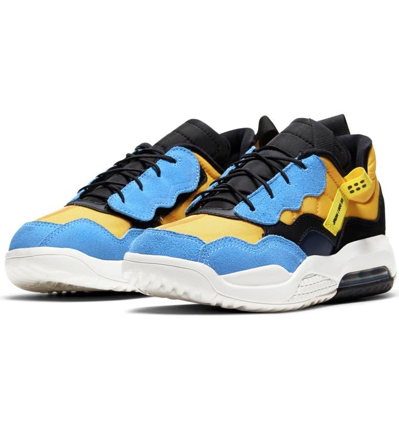 NIKE Jordan MA2 Sneaker, Main, color, GOLD/ GYM RED/ BLACK