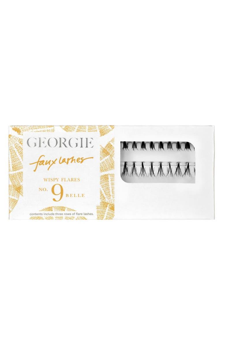 GEORGIE BEAUTY <SUP>™</SUP> Georgie Beauty<sup>™</sup> 'Belle' Faux Lashes, Main, color, 000