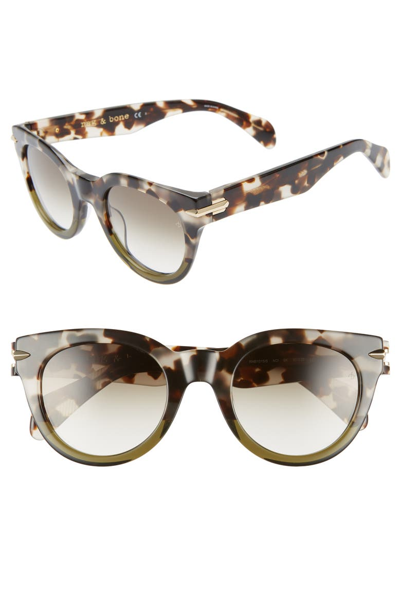 Rag Bone Core 50mm Cat Eye Sunglasses