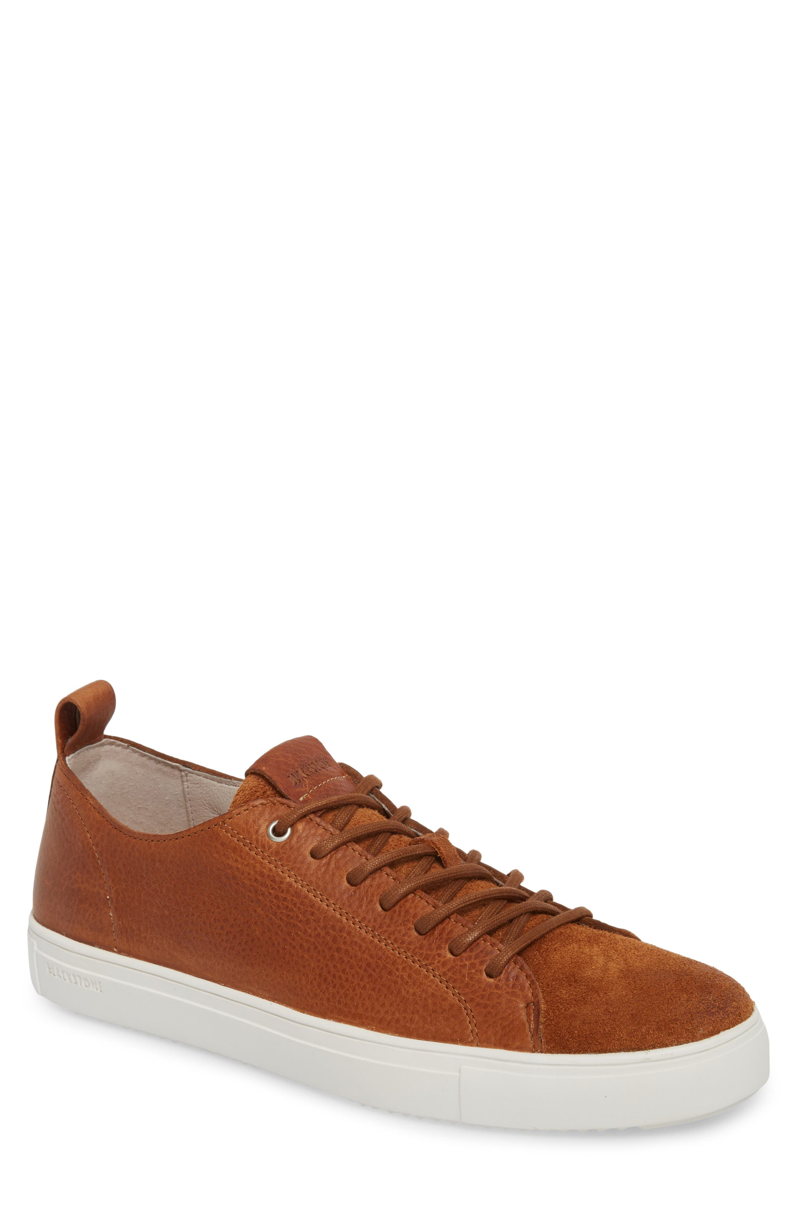 Image of Blackstone Suede & Leather Low Top Sneaker