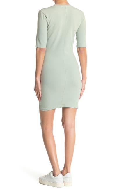 Image of John Elliott Short Sleeve Sheath Dress