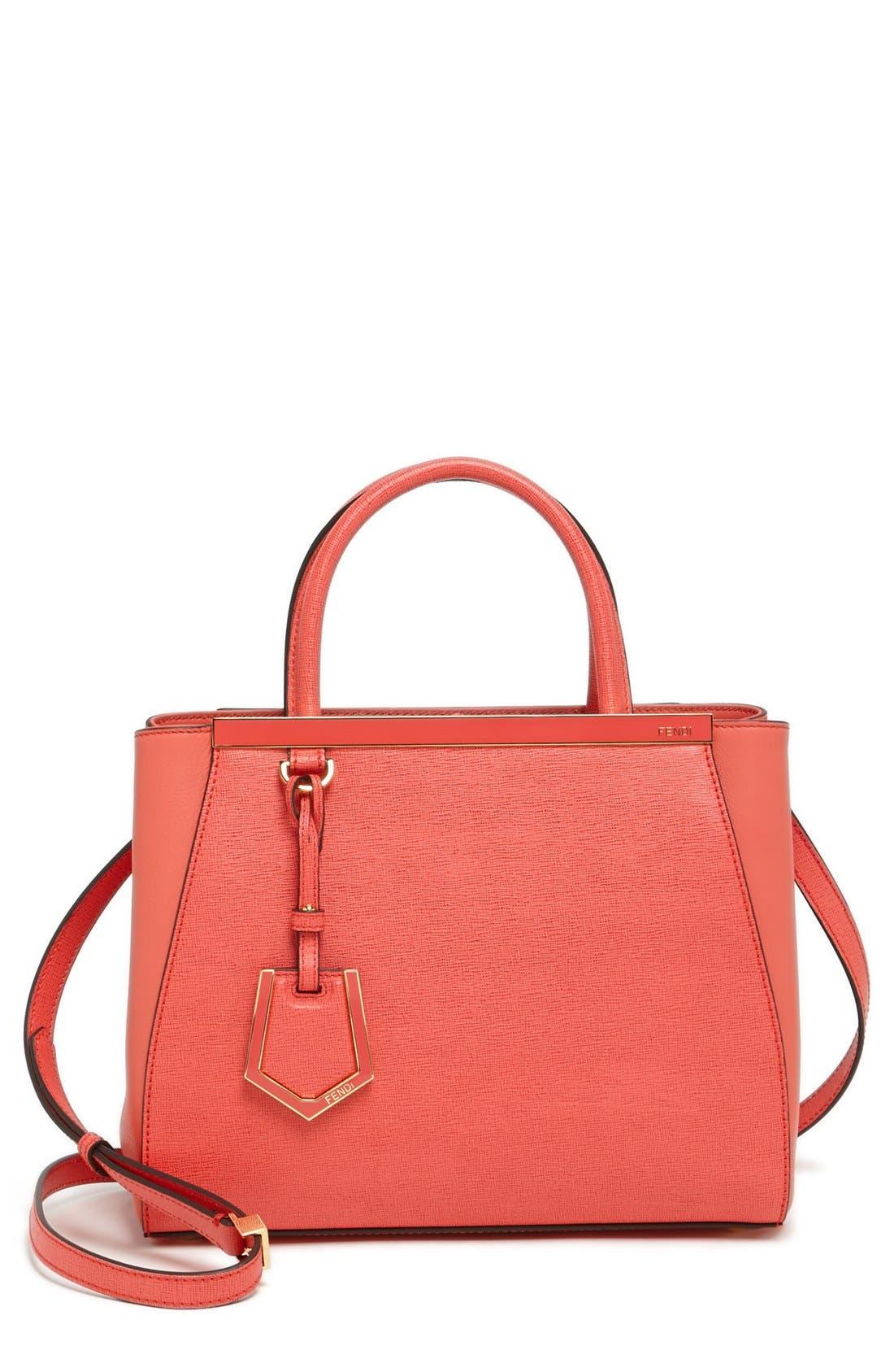 ,                             'Petite 2Jours Elite' Leather Shopper,                             Main thumbnail 89, color,                             650