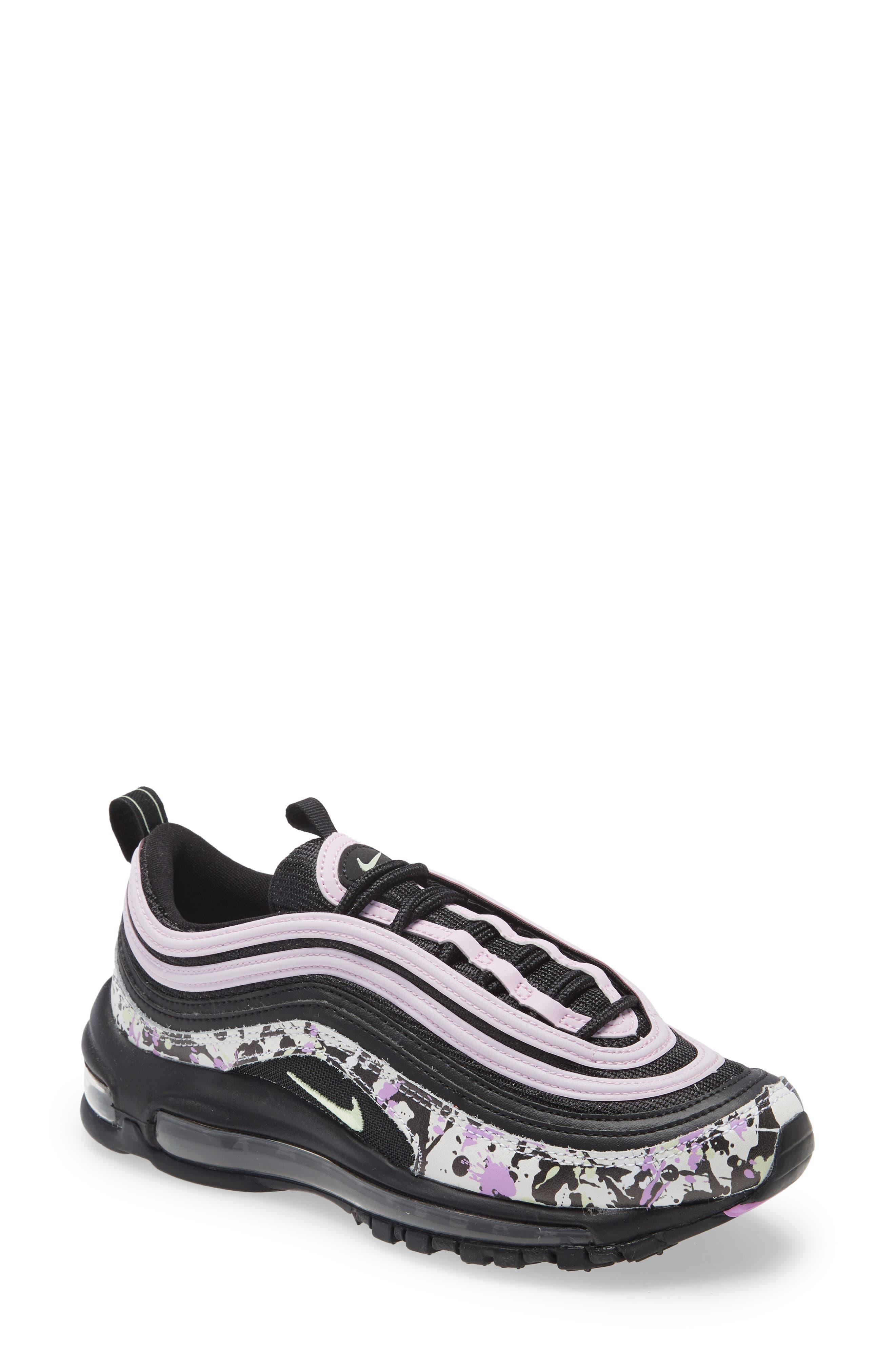 Women's Nike Air Max 97 Sneaker, Size 6 M - Black   SportSpyder