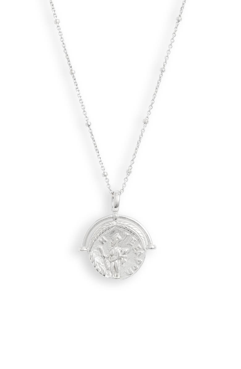 Adina's Jewels Ancient Greek Coin Necklace by Adina's Jewels